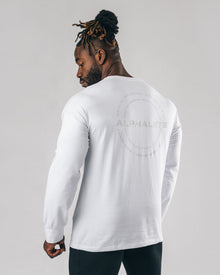 Caliber Long Sleeve - White
