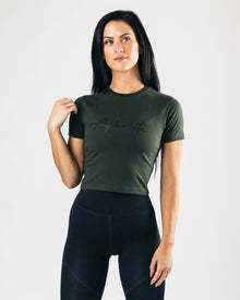 Signature Crop - Hunter Green