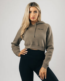 Signature Performance Crop Hoodie - Joshua Tree