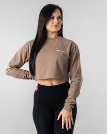 Oversized Crop Top - Cargo
