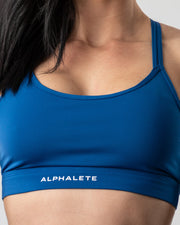 Surface Tri Bra - Sonic Blue