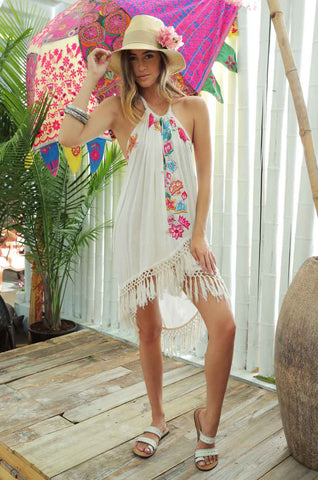 ZL Halter Dress from Punta Mita