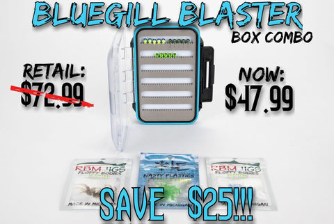 BLUEGILL BLASTER Box Super Combo
