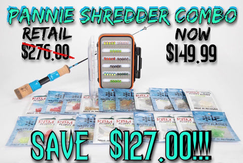 Pannie Shredder Rod Combo