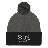 Lake Effect Pom-Pom Beanie