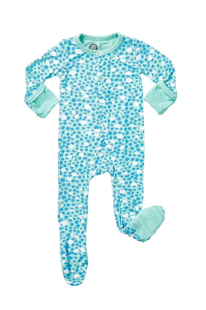 Oh Joy! x Clover Baby & Kids, Dreamy Dots Footie