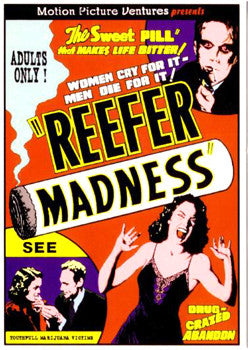 1936 - Reefer Madness Film Cautions Against Marijuana