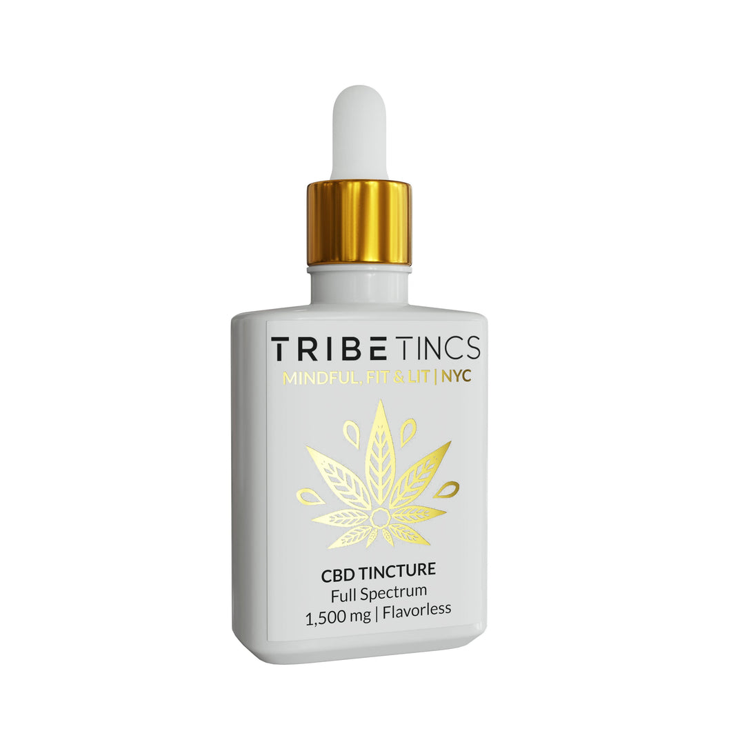 Lemon Full Spectrum CBD Tincture | For Anxiety, Sleep, Mood, Pain + Tension