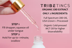 Full Spectrum CBD Tincture - Flavorless | For Anxiety, Sleep, Mood, Pain + Tension
