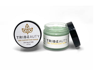 CBD Superfood Mask | 6-in-1:  Brightens, Softens, Plumps, Hydrates, Oxygenates, Calms + Protects