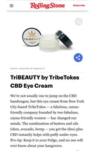 Load image into Gallery viewer, Travel Size CBD Eye Cream | Reduces Dark Circles, Wrinkles and Puffiness