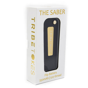 CBD Vape Starter Kit | The Saber Flip Battery + Cartridge (Bundle - Save $15)