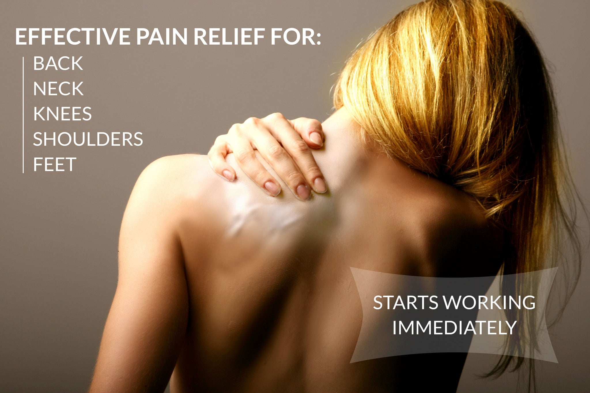 CBD has pain-relieving properties