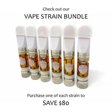 Load image into Gallery viewer, Full Spectrum CBD Vape Oil Cartridge | Half or Full Gram | 6 Strains