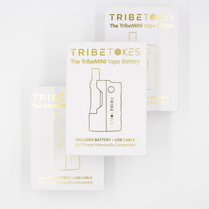 CBD Vape Starter Kit | TribeMINI Battery + Cartridge (Bundle - Save $15)