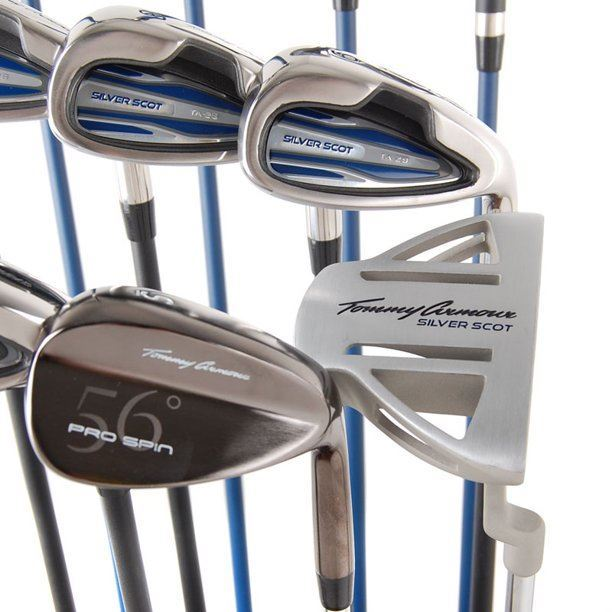 Tommy Armour Silver Scot Club & Bag Package, Left Handed