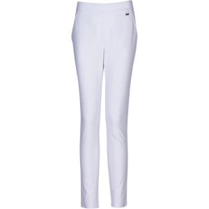 Greg Norman ML75 Ladies Pull-On Stretch Pants - White
