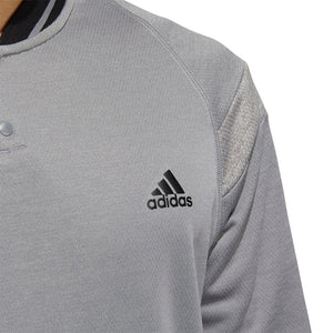 Adidas Quarter-Zip Golf Jacket - Grey