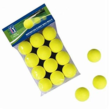 PGA Tour Yellow Foam Balls