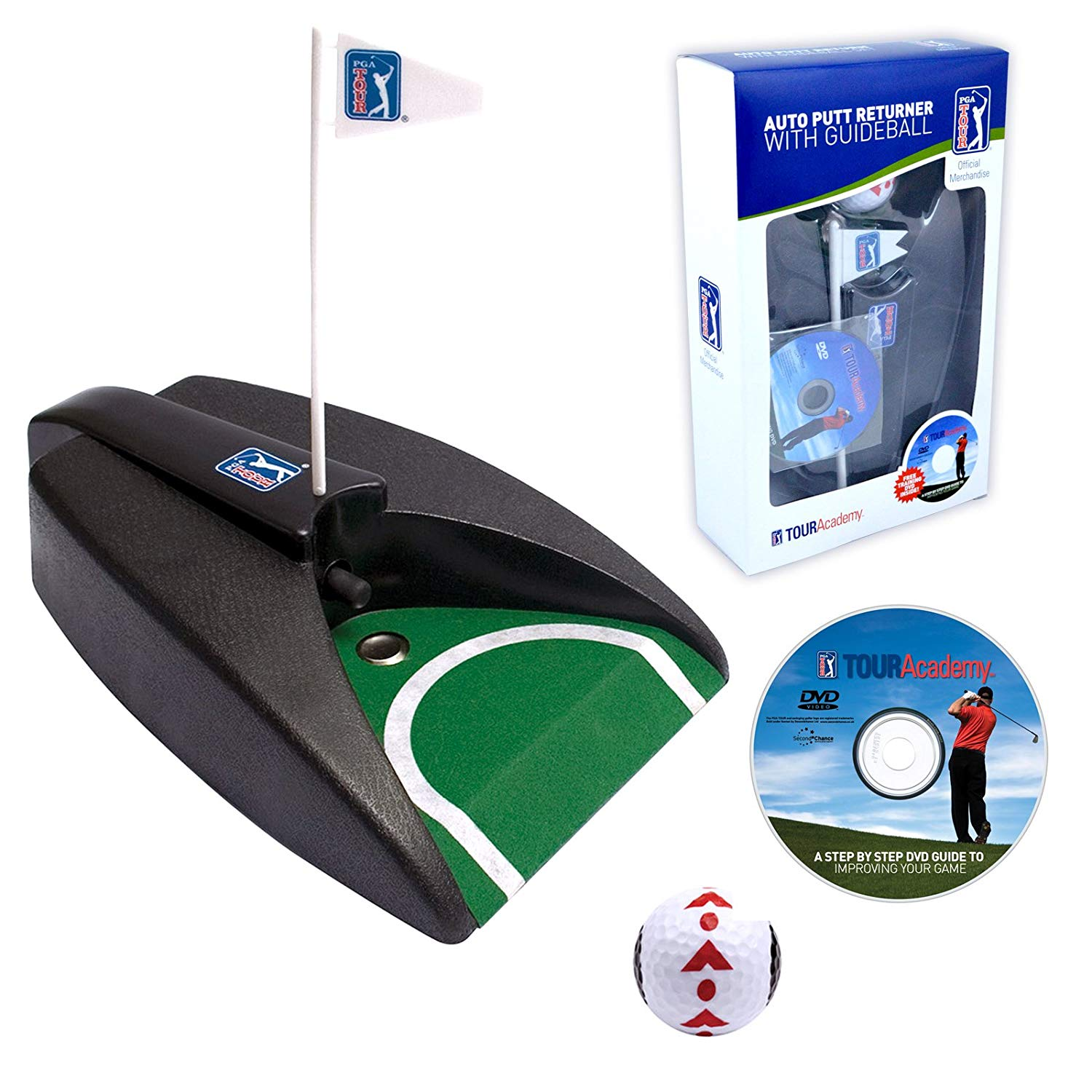 PGA Tour Auto Return Putter W DVD