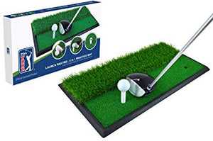 PGA Tour Launch Pad Pro 2 in 1 Driving Mat
