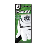 FootJoy Weathersof Cadet MLH - White