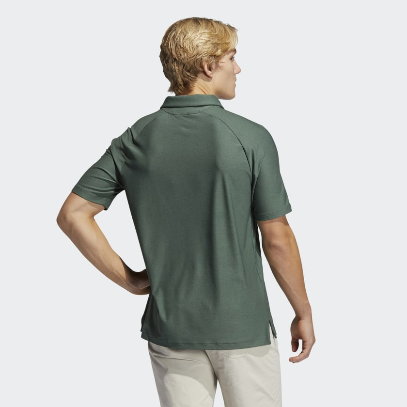 Adidas Mens Go-To Polo - Green Oxide
