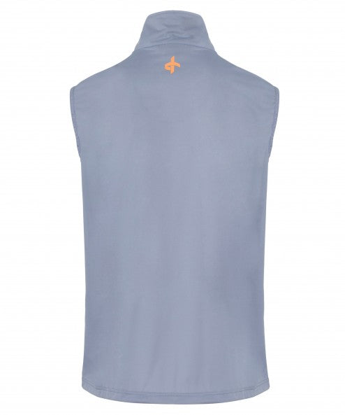 Cross Wind Vest - Stonewash