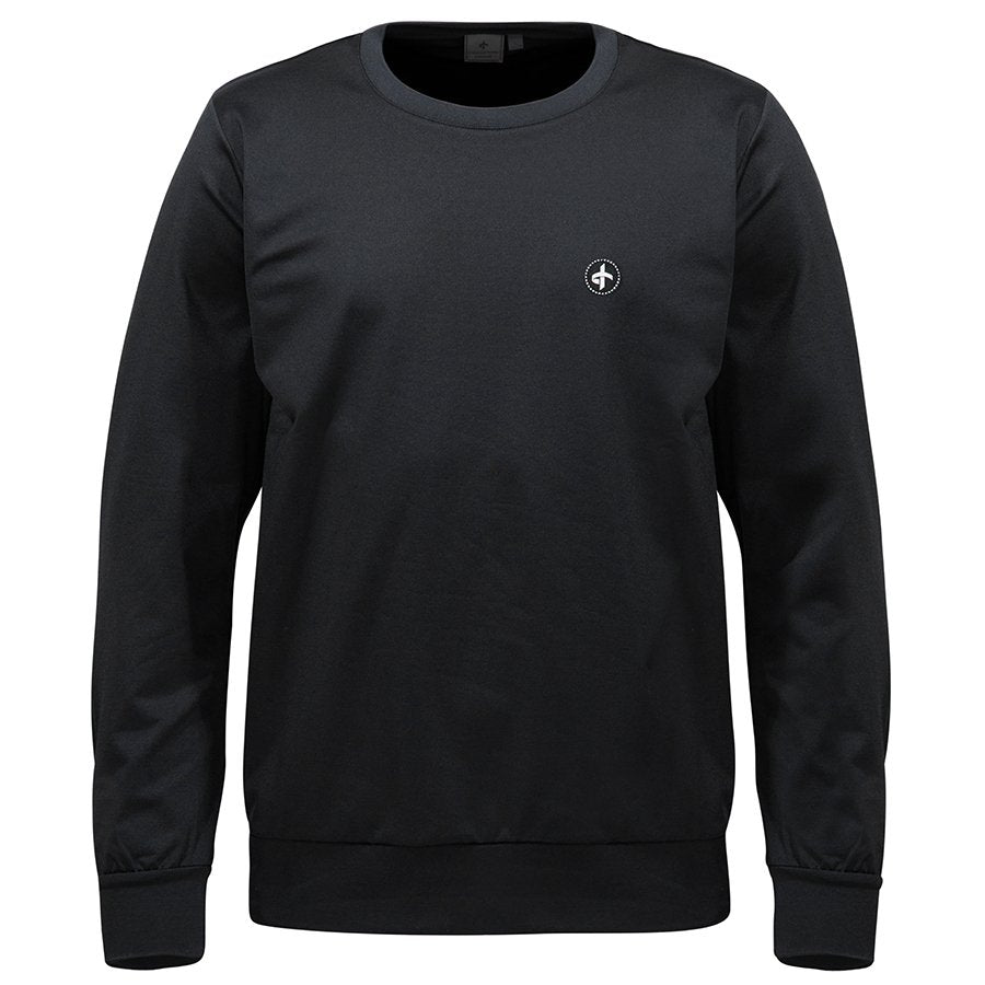 Cross M Tech Crew Neck - Black