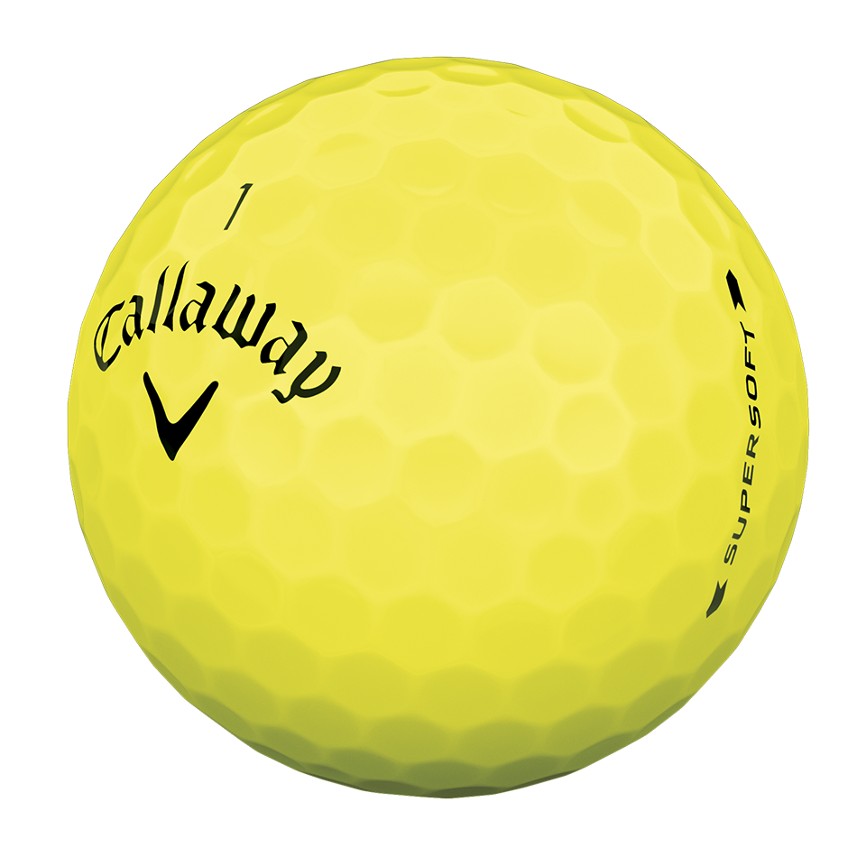 Callaway Supersoft Yellow Dozen