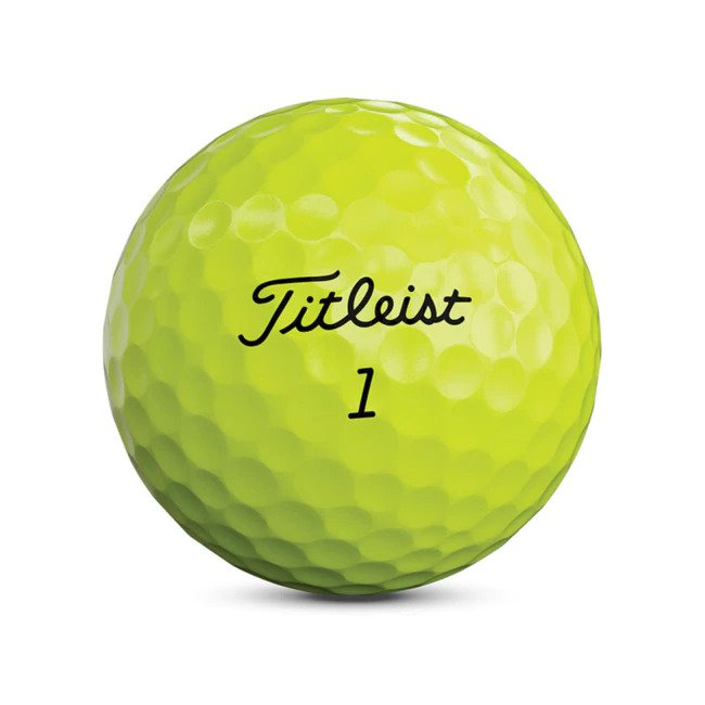 Titleist Tour Soft Yellow Dozen 2020