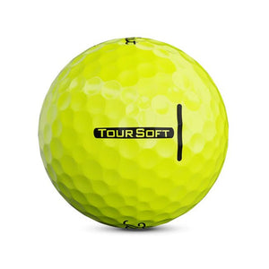 Titleist Tour Soft Yellow Dozen