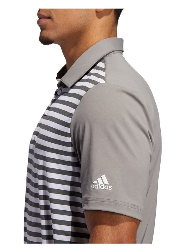 Adidas Ultimate365 Wide Stripe Polo