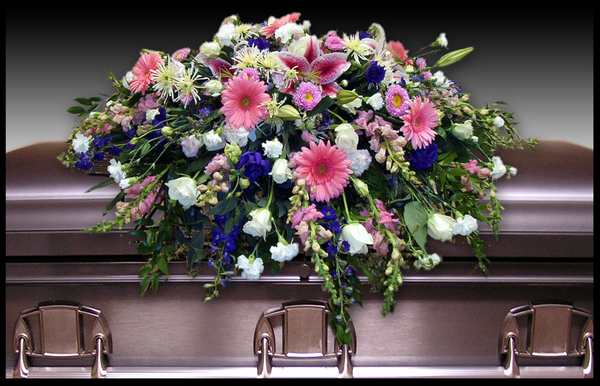 Spring Eternal Casket Spray