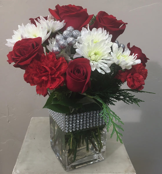 Sparkling Holidays Bouquet