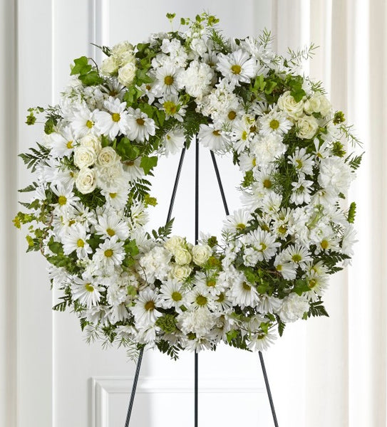 Faithful Wishes Wreath