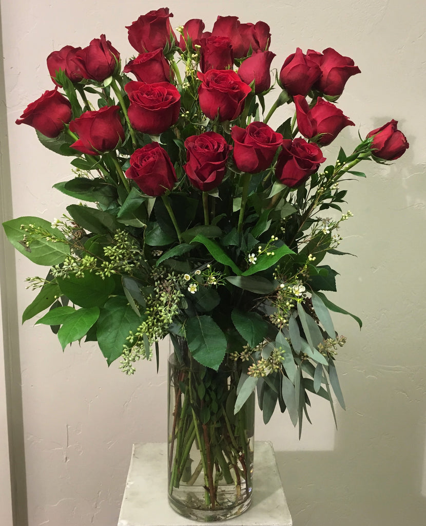 Two Dozen Long Stem Roses