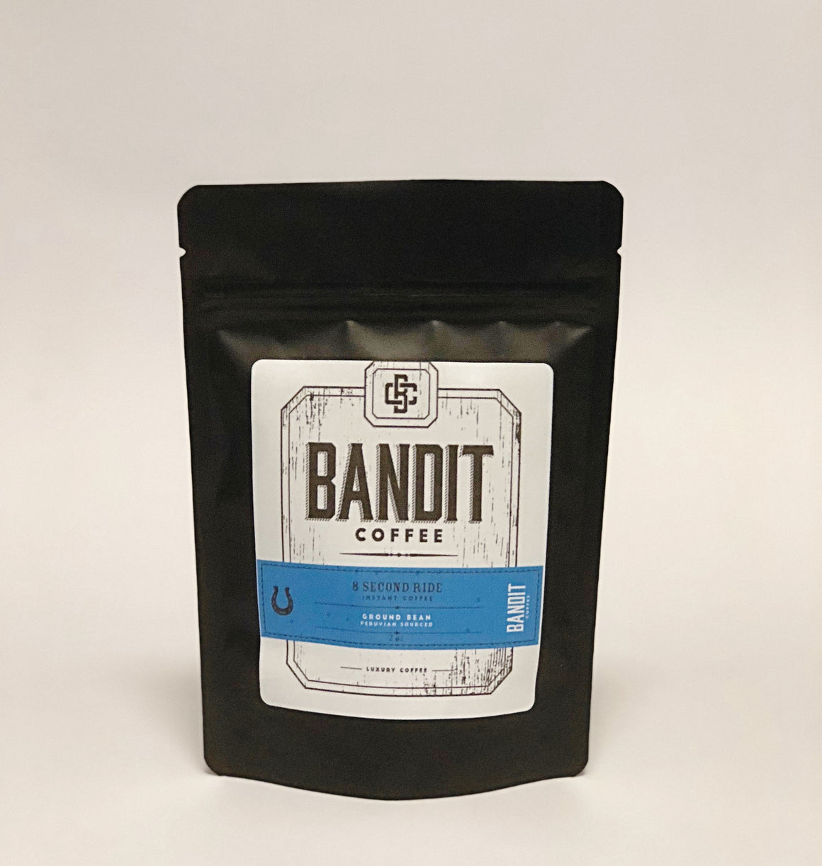 8 Second Ride Instant Coffee   2 oz. - Bandit Coffee Co. Coffee - low acidity coffee, Coffee - subscription coffee, 8 Second Ride Instant Coffee   2 oz. - luxury coffee, Coffee - on-demand coffee, Coffee - instant coffee,