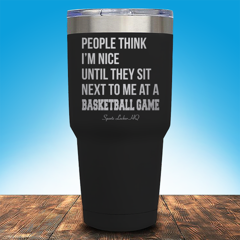A Basketball Game Laser Etched Tumbler (Premium) JA920