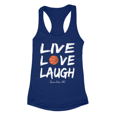 Basketball Live Love Laugh Apparel SA3