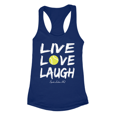 Tennis Live Love Laugh Apparel SA7