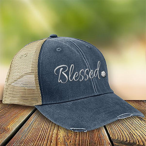 Volleyball Blessed Premium Trucker Hat SA231