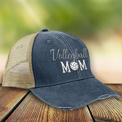 Volleyball Mom Premium Trucker Hat SA179