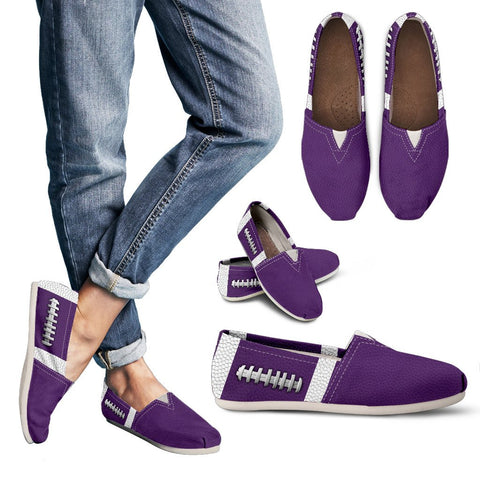 Football Purple Premium Casual Shoes