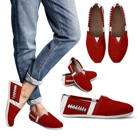 Football Crimson Red Premium Casual Shoes