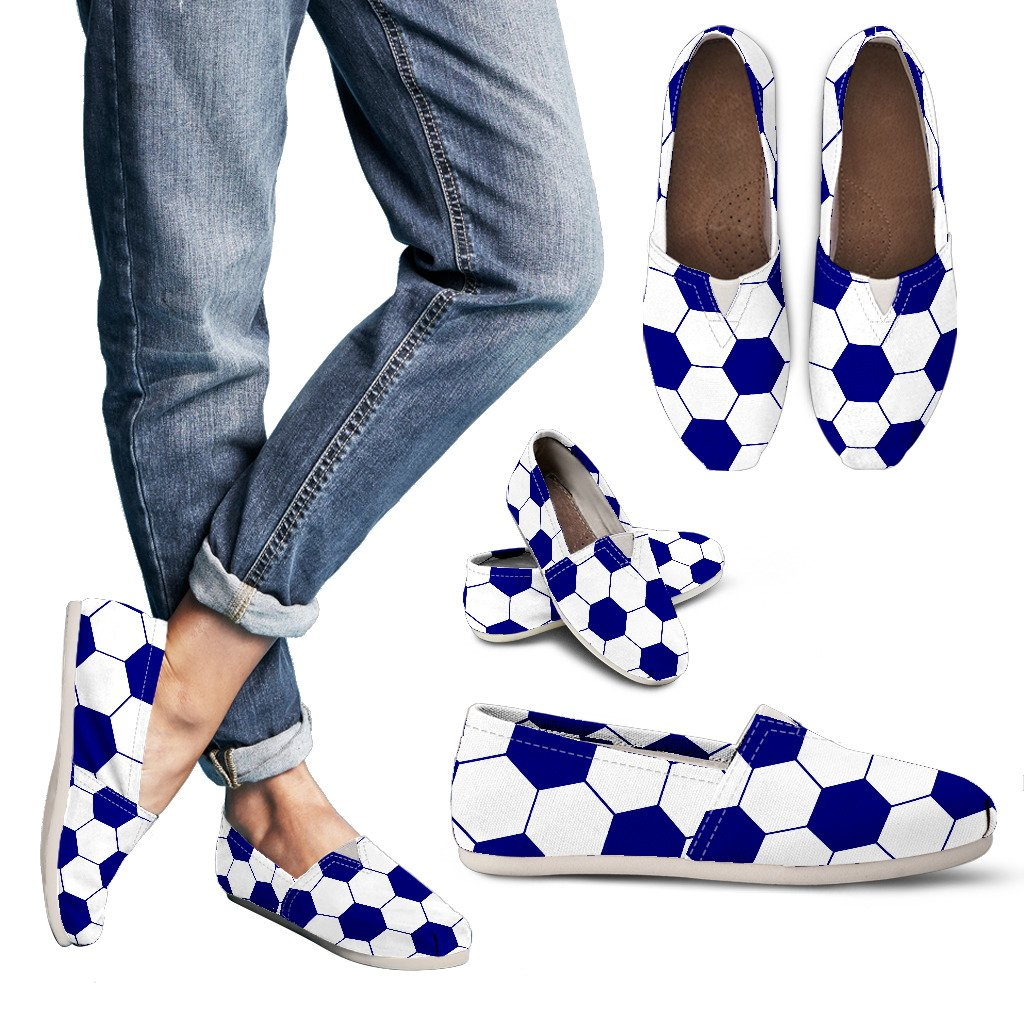 Soccer Navy Blue Premium Casual Shoes