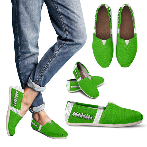 Football Kelly/Light Green Premium Casual Shoes