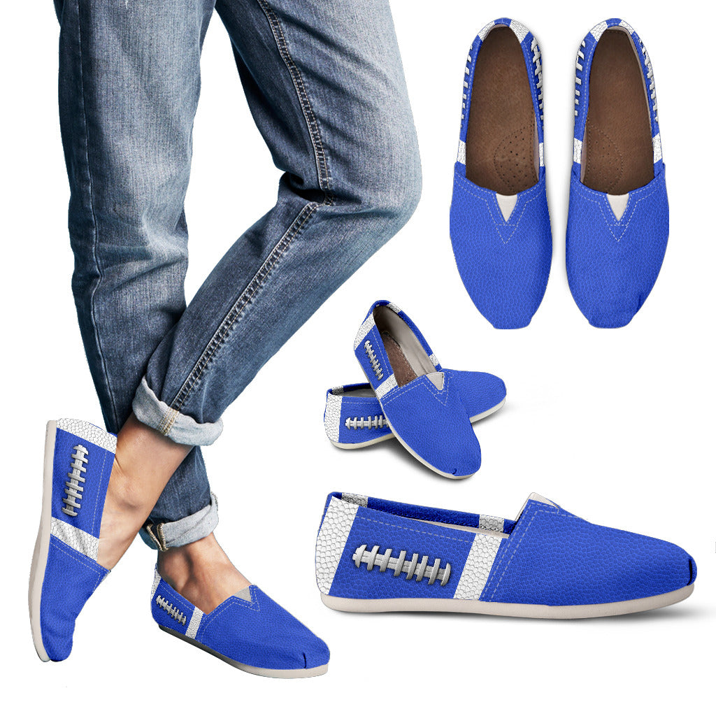 Football Royal Blue Premium Casual Shoes