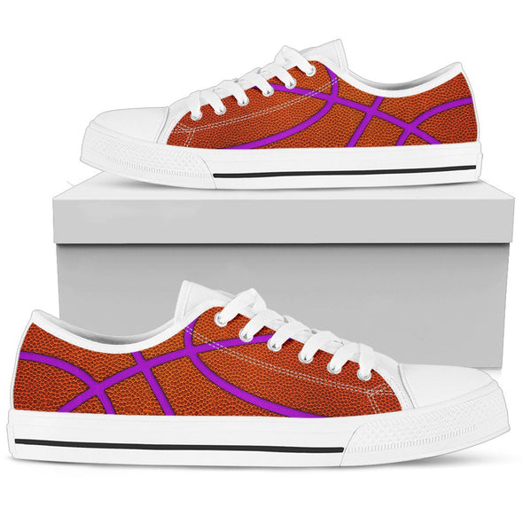Basketball Purple Premium Low Top Shoes