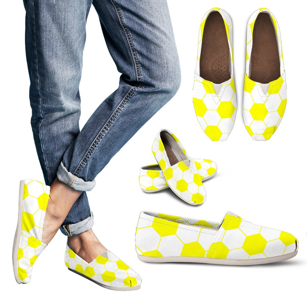 Soccer Yellow Premium Casual Shoes